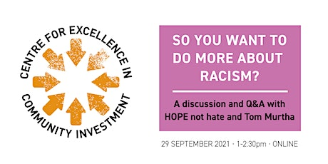 So you want to do more about racism?A discussion and Q&A tickets