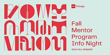 Fall Mentor Program Info Night tickets