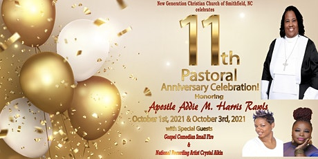 11th Pastoral Anniversary Night of Honor & Laughter for Apostle Addie Rawls tickets