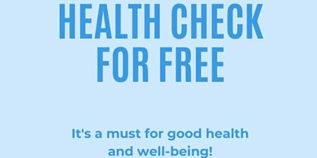 Free Health Check For Everyone tickets