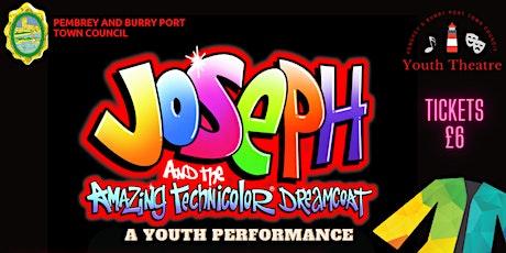 Joseph and his Amazing Technicolour Dreamcoat tickets