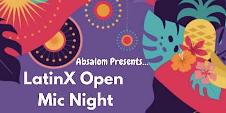 LatinX Open Mic Night tickets