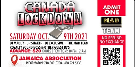 Canada  LockDown tickets