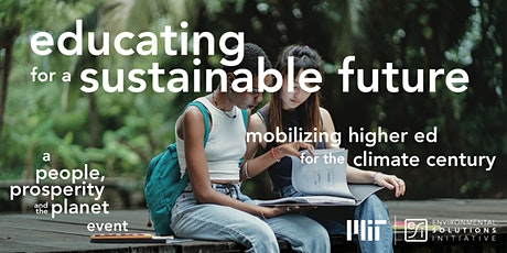 Educating for a Sustainable Future tickets