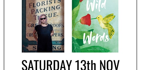 author talk: Wild Words by Kate Hodges tickets
