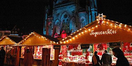 Marché de Noel à Strasbourg & Colmar 2021 - 11-12 décembre billets