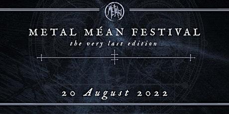 Metal Méan Festival 2022 billets
