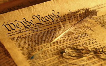 Constitutional Primer We the People: Constitutional talks on the tickets