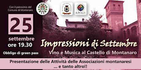 Impressioni di Settembre: vino e musica biglietti