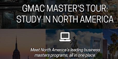Feria:  TMBAT - Master's Tour: Study in North America boletos