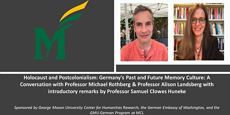 Holocaust &  Postcolonialism: Germany's Past &  Future Memory Culture Talk tickets