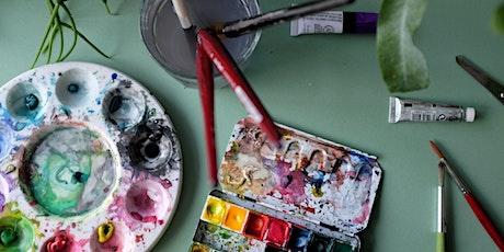 Watercolour for Beginners (online class) tickets