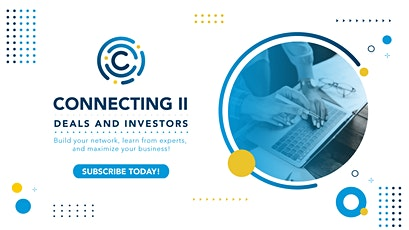 Connecting II: Deals and Investors tickets