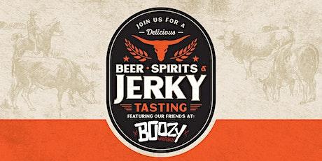 Beer, Spirits + Jerky Tasting tickets