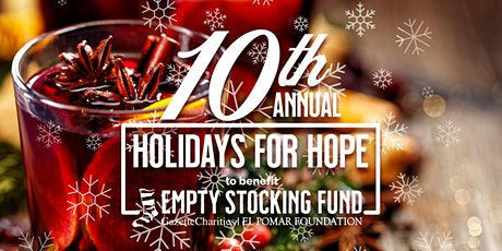10th Annual Holidays for Hope Fundraiser tickets