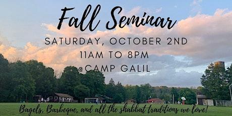 Fall Seminar 2021 tickets