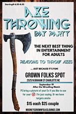 Axe Throwing Party tickets