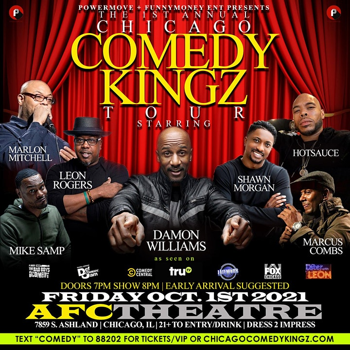 CHICAGO COMEDY KINGS TOUR image