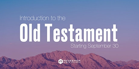 Introduction to the Old Testament tickets
