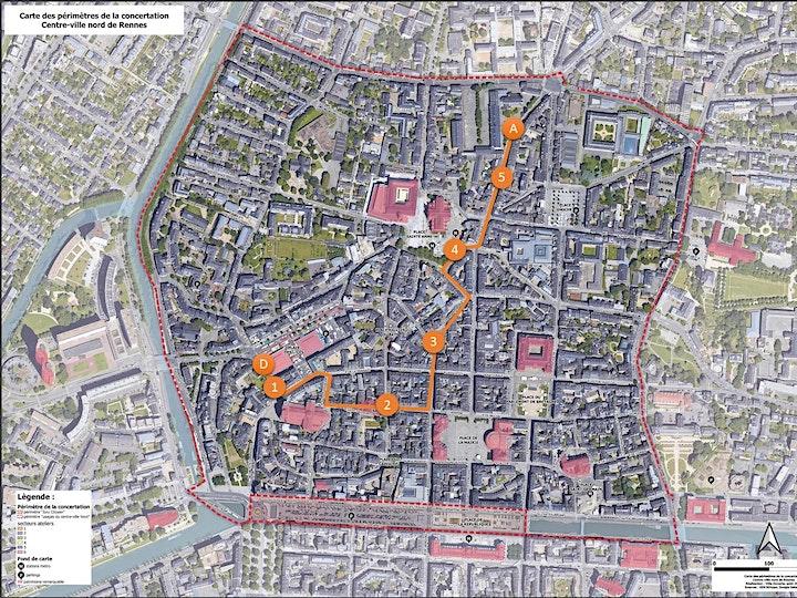 Image pour Balade urbaine - Focus Champ Jacquet et Sainte Anne