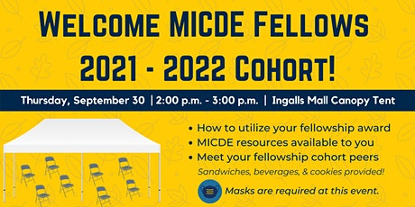 MICDE 2021 Fellows Welcome Event tickets