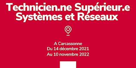INFO CO - CARCASSONNE / Tech Sup Syst et Réseaux - Simplon (présentiel) Tickets