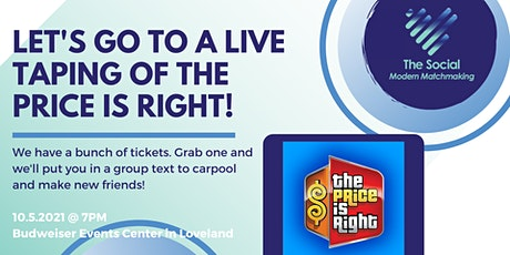 Live Taping of  'The Price is Right' tickets