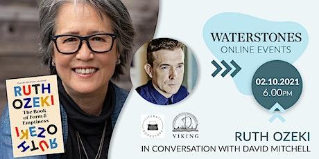 Ruth Ozeki – in conversation with David Mitchell tickets