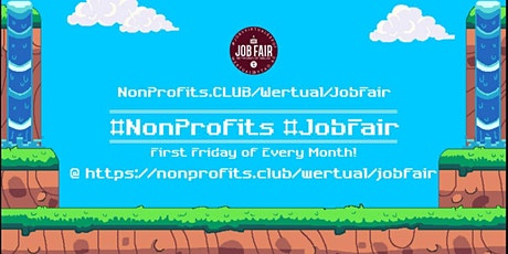Monthly #NonProfit Virtual JobExpo / Career Fair # Austin tickets