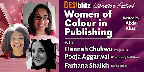 DESIblitz  Literature Festival -  Women of Colour in Publishing tickets