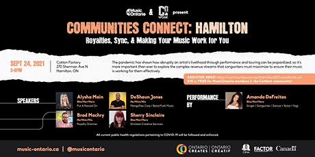 Communities Connect Hamilton: Royalties, Sync, & Making Music Work for You tickets