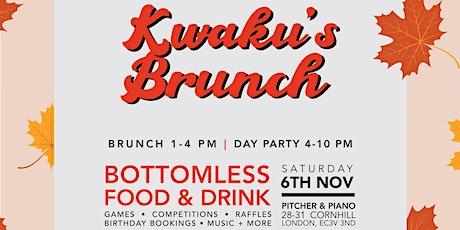 Kwaku's Brunch: The Bottomless Food & Drink Brunch Party tickets