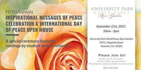 5th Annual Inspirational Messages of Peace Celebration tickets