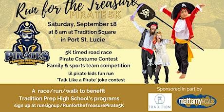 Run for the Treasure Pirate 5K tickets