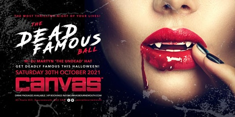 HALLOWEEN 2021: THE DEAD FAMOUS BALL tickets