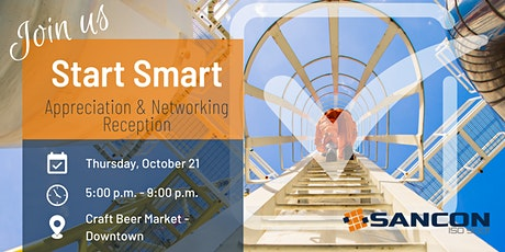 Start Smart Networking and Appreciation Reception tickets