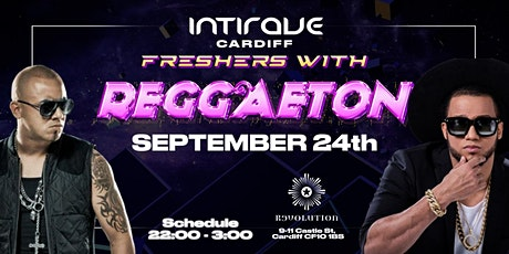 Intirave Cardiff   Reggaeton International Freshers tickets