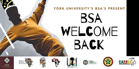 BSA Welcome Back tickets