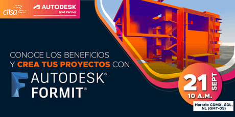 21  Sep  Conoce los beneficios y crea proyectos con Autodesk Formit  V entradas
