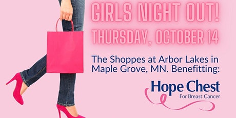 Girl's Night Out benefiting Hope Chest for Breast Cancer 2021 tickets