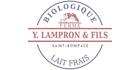 Visite - 2 octobre 2021 - Ferme Y. Lampron et Fils billets