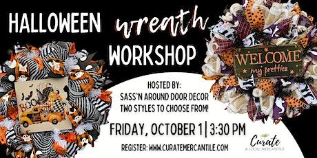 Halloween Wreath Workshop tickets