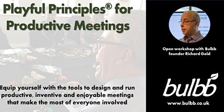 Playful Principles® for Productive Meetings - open training tickets