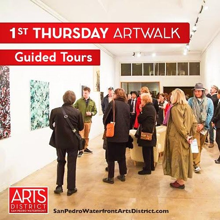 October 7th Guided ArtWalk Tour image