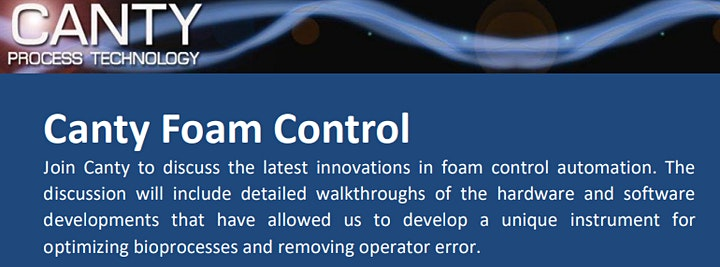 Canty Foam Detection and Control image