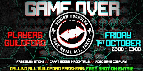 Schism Guildford: GAME OVER! // Video Game Cosplay Night tickets