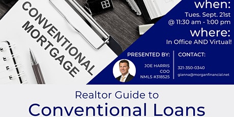 Realtor Guide to Conventional Loans tickets
