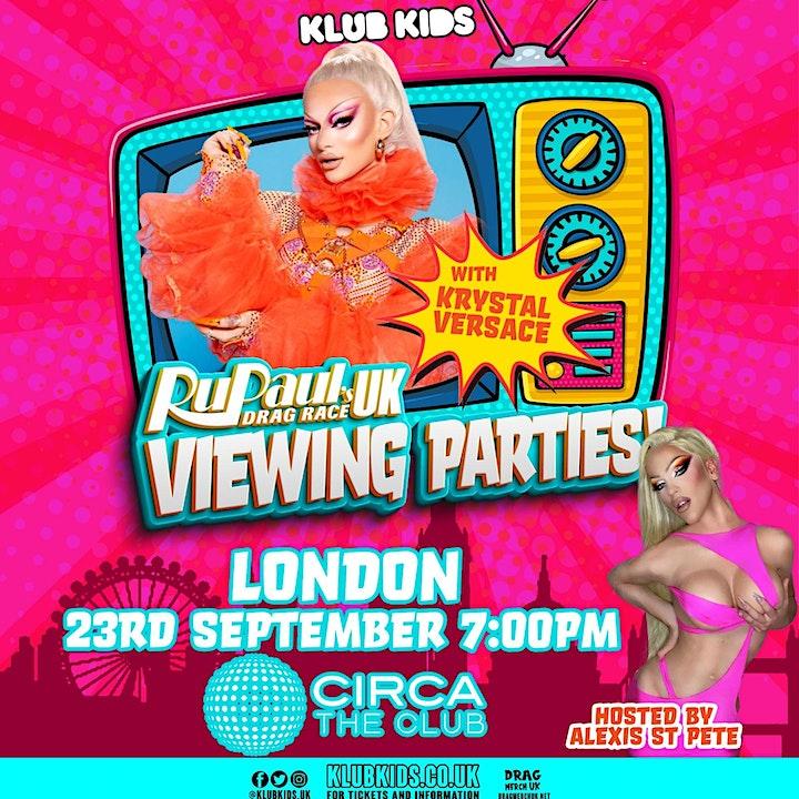 LONDON - Season 3  viewing party - Week 1 (Krystal Versace) ages 14+ image