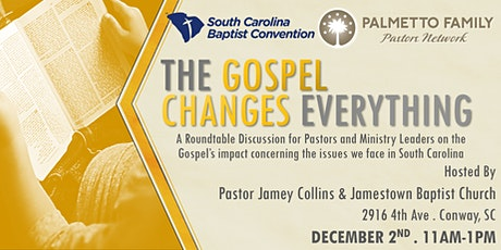 The Gospel Changes Everything Tour CONWAY tickets