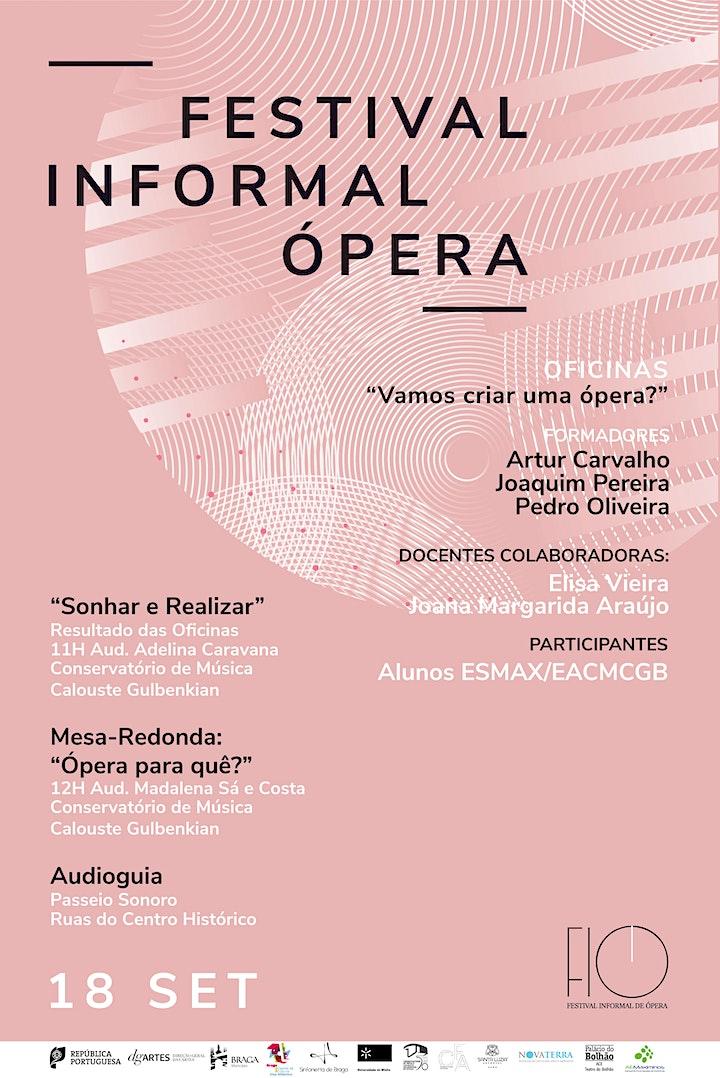 """imagem """"Sonhar e realizar"""": resultado das oficinas """"Vamos criar uma ópera"""" - FIO"""